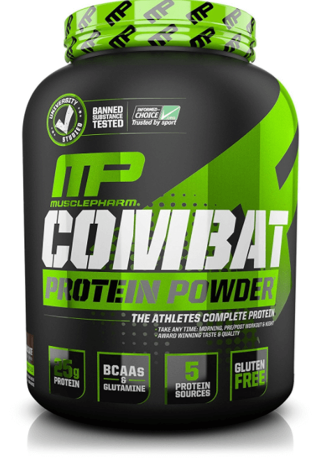 Combat Protein Powder (Marca, MusclePharm)