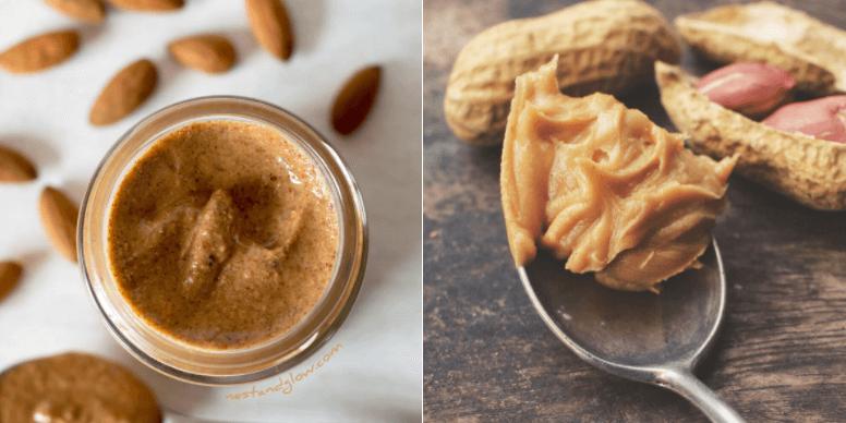 Manteiga de Amêndoa Vs Manteiga de Amendoim: Qual a Mais Saudável?