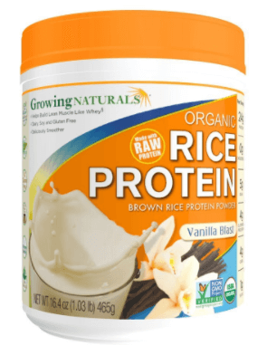 Pó De Proteína De Arroz Integral (Marca, Growing Naturals)