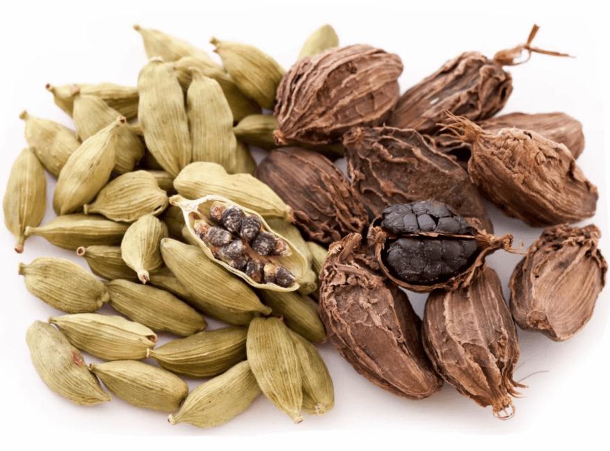 Sementes De Cardamomo (Elettaria Cardamomum)