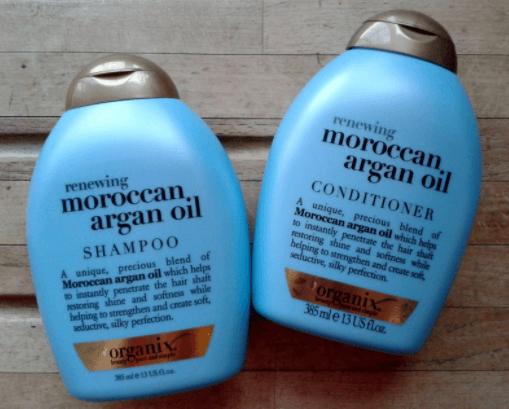 Moroccan Argan Oil Shampoo, OGX