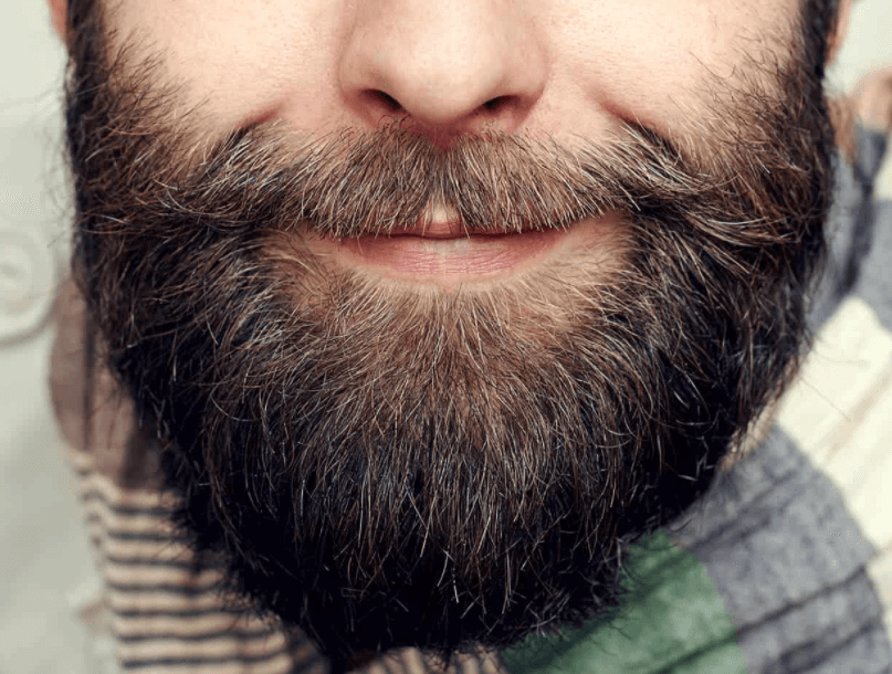 Barba Grande Com Estilo