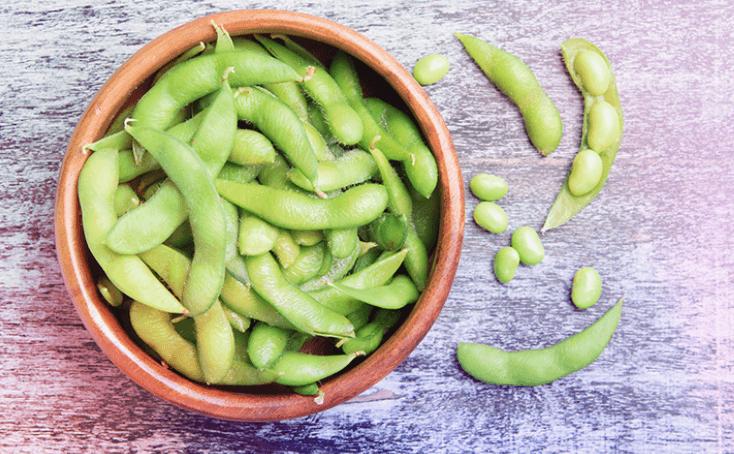 Edamame é Maravilhoso Para Vegetarianos E Uma Fonte Rica Em ácidos Graxos ômega 3