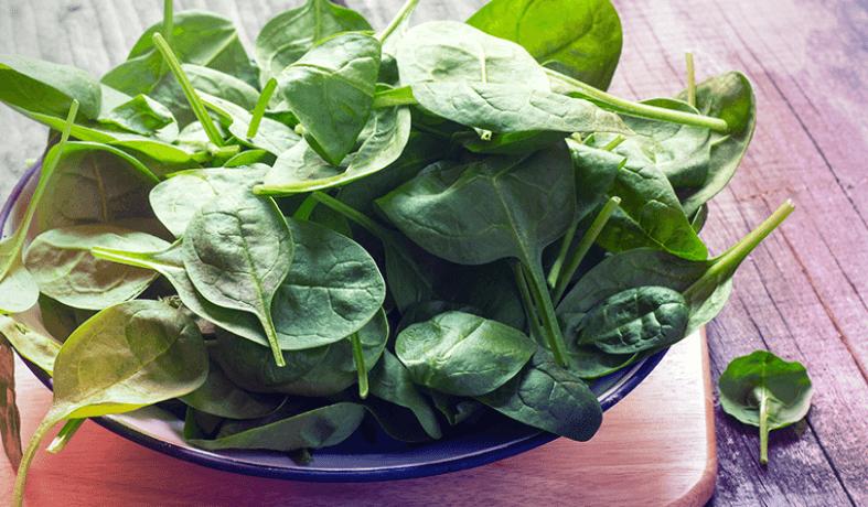 Os Espinafres São Um Dos Vegetais De Folhas Verdes Mais Rico Em Carotenoides