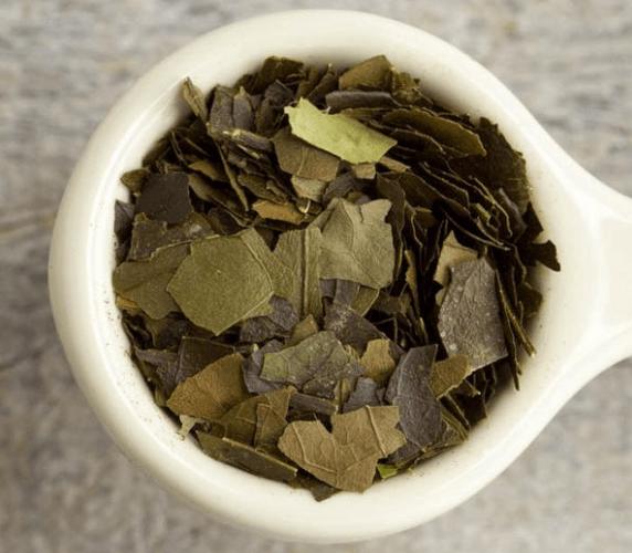 Folhas Secas De Guayusa,Ilex Guayusa, Planta Amazônica Perfeita Para Fazer Um Chá Estimulante E Energizante