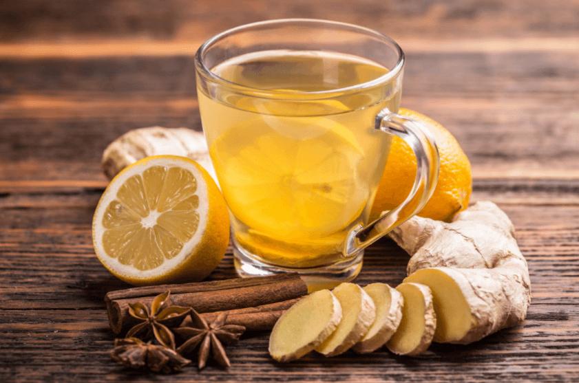 Chá De Gengibre Com Canela