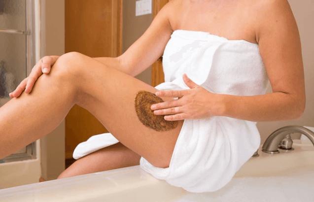 Esfoliação Corporal Para Eliminar A Celulite
