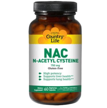 Suplemento De Acetilcisteína, N Acetilcisteína