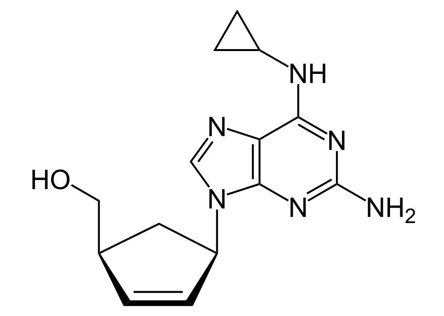 Estrutura Do Abacavir, Nome Comercial Ziagen