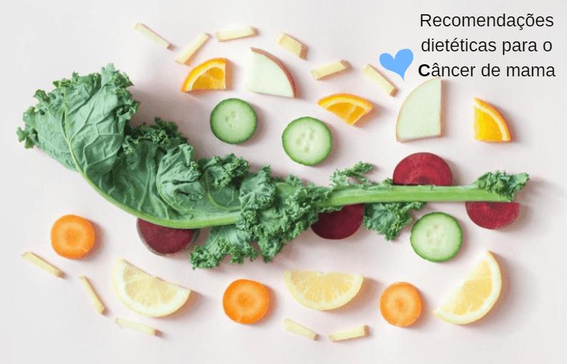 Dieta Para O Câncer De Mama, Recomendações Dietéticas Preventivas